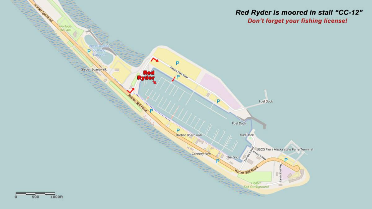 Homer Charter Boat - Homer Harbor