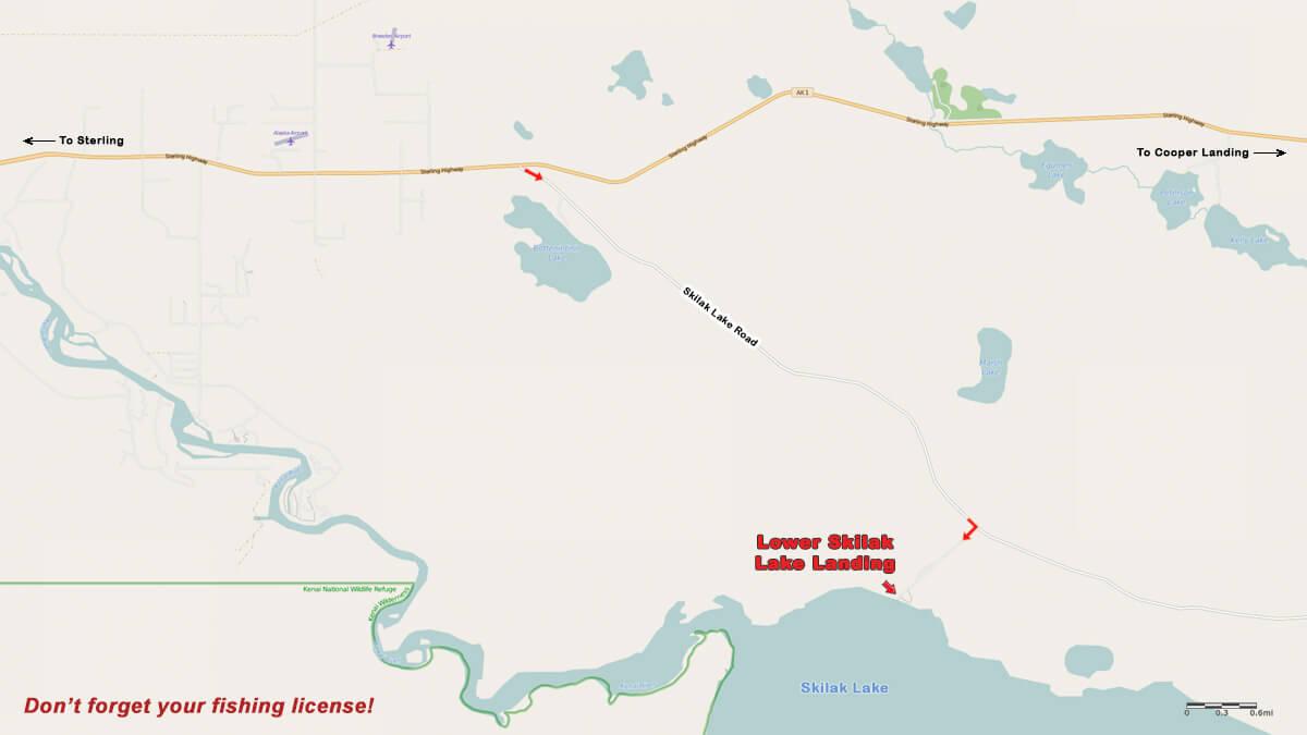 Lower Skilak Lake Landing