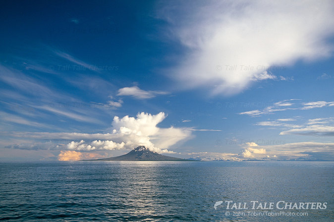 Cook Inlet & Augustine Volcano