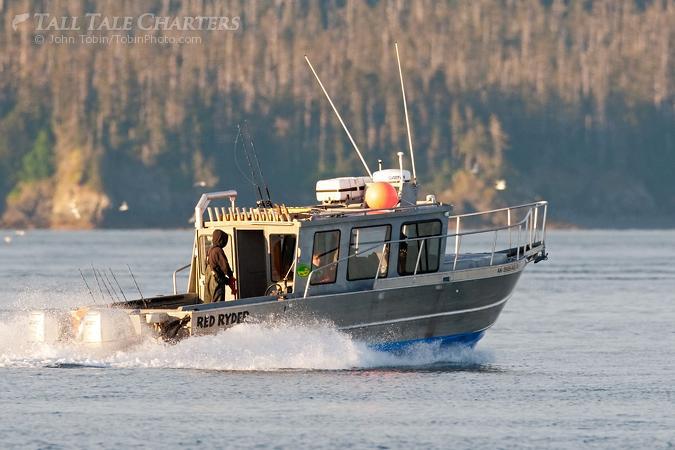 Homer alaska charter boat red ryder for Alaska fishing boats