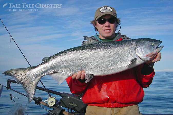 Homer King Salmon Fishing