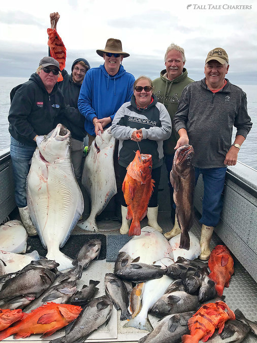 Rockfish & Halibut Fishing AK