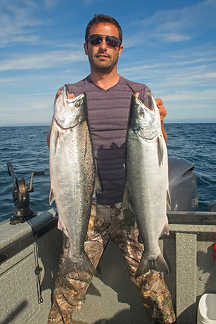 Homer Silver Salmon Fishing