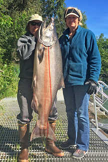 King Salmon Fishing in Alaska