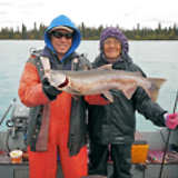 Silver Salmon Fishing